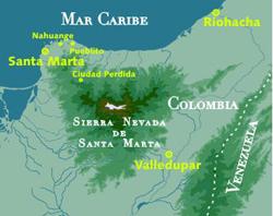 Koguis, los hijos del jaguar, el corazón del mundo, la montaña sagrada de Colombia y la profecía de los hermanos mayores. (5/6)