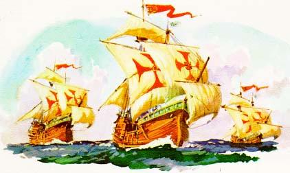 El origen de Cristóbal Colón, un misterio... por poco tiempo - Página 3 Ninapintasantam